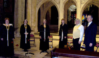 Vox Angelica in Chichester Cathedral